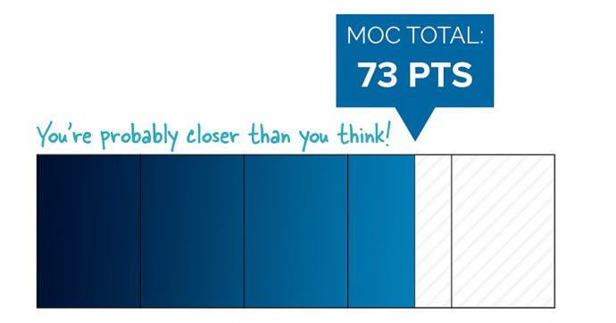 A Refresher on Your 5-Year, 100 MOC Point Requirement