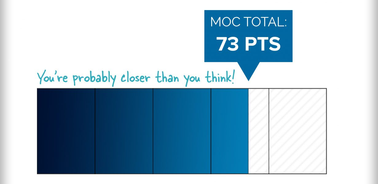 Choice, Relevance, Convenience: Earn MOC Points on Your Terms