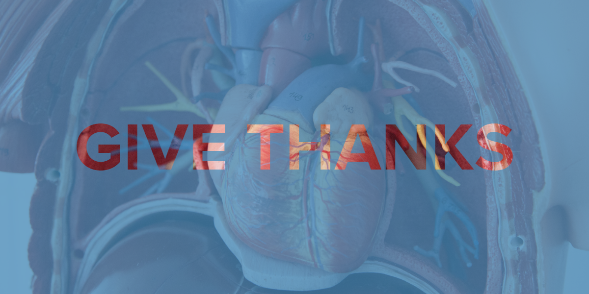 A Message of Gratitude from Dr. Richard Baron